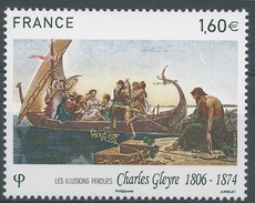 France, Charles Gleyre, Swiss Painter, 2016, MNH VF - Francia