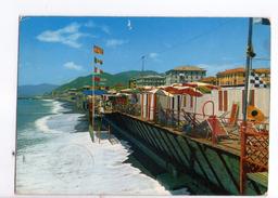 U155 Cartolina Della Liguria - Lavagna (Genova) Spiaggia E LIDO - Beach Plage Strand Playa _ 1972 CIRCOLATA _ - Italia