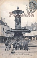 (77) Melun - Place Saint Jean La Fontaine -  2 SCANS - Melun