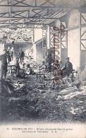 (77) Blessés Allemands Dans Le Préau Des écoles De Varreddes - Guerre 1914 - 2 SCANS - Autres Communes