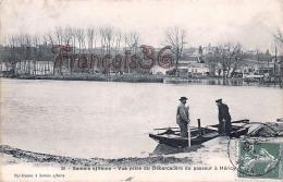 (77) Samois Sur Seine - Vue Prise Du Débarcadère Du Passeur à Héricy - Barque - 2 SCANS - France