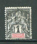 MADAGASCAR- Y&T N°28- Oblitéré - Oblitérés