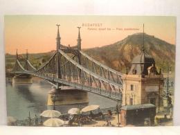 FS,COLLEZIONE,STORIA POSTALE,CARTOLINA POSTALE,POSTCARD,EUROPA,UNGHERIA,BUDAPEST,PONTE - Hongrie