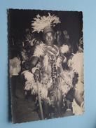 KRIJGER In Traditionele Kleding () Stamp BUKAVU Anno 1955 ( Zie Foto Voor Details ) !! - Autres