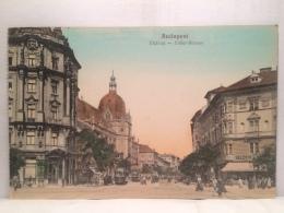 FS,COLLEZIONE,STORIA POSTALE,CARTOLINA POSTALE,POSTCARD,EUROPA,UNGHERIA,BUDAPEST - Hongrie