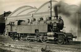 090317 -  PHOTO VILAIN - 75 PARIS  DENFERT 14 Arrondissement 141-630 PO MIDI - Chemin De Fer Train Locomotive - Stations, Underground