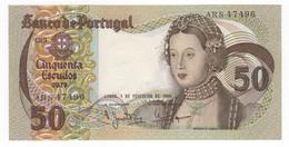 Portogallo, 50 Escudos 1980. UNC. - Portugal