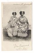 MADAGASCAR / DIEGO-SUAREZ , Le..... ( 2 Femmes Malgaches ) / Timbres + Cachet De LA REUNION à MARSEILLE - Madagascar