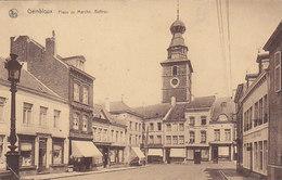 Gembloux - Place Du Marché, Beffroi (Imprimerie Duculot) - Gembloux