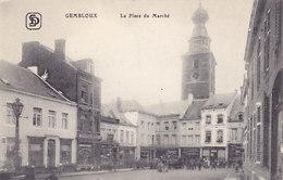 Gembloux - La Place Du Marché (animée, Edit. S D) - Gembloux
