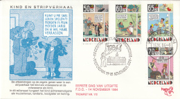 Nederland – FDC Trompet 172 – Kinderzegels – Kind En Stripverhaal – Joost Swarte – NVPH 13 - FDC