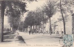 Carte Postale Animée, Entrée Du Village, La Boissière, Condé Sur Sarthe - Francia