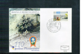 Bosnia&Herzegowina  2002   110 Years Of Climbing In Bosnia FDC - Climbing