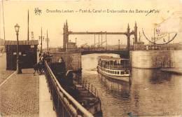 Laeken - Pont Du Canale Et Embarcadère Des Bateaux De Plaisance - Laeken
