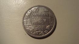 MONNAIE POLYNESIE FRANCAISE 1 FRANC 2000 - Polynésie Française