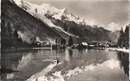 CHAMONIX-MONT-BLANC - La Plage Et Le Mont-Blanc. - Chamonix-Mont-Blanc