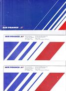 PARIS  NEW YORK  1990  LES 2 BILLETS - Billets D'embarquement D'avion