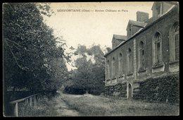 Cpa  Du 60  Serifontaine -- Ancien Château Et Parc   GX10 - Other Municipalities