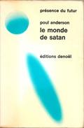 PDF 130 - ANDERSON, Poul - Le Monde De Satan (BE+) - Présence Du Futur
