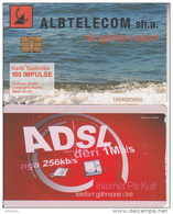 ALBANIA - ADSL, Albtelecom Telecard 100 Units, Tirage 90000, 05/07, Used