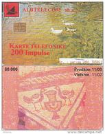 ALBANIA - Birds, Albtelecom Telecard 200 Units, Tirage 60000, 11/00, Used