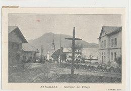 Hte Savoie - Marcellaz Interieur Du Village - Francia