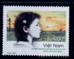 Vietnam Viet Nam MNH Perf Withdrawn Stamp 2002 : 50th Death Anniversary Of Vo Thi Sau Heroine (Ms877) - Vietnam