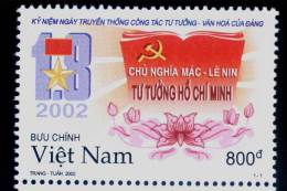 Vietnam MNH Perf Withdrawn Stamp 2002 : Anniversary Of The Viet Nam Communist Party (Ms897) - Vietnam