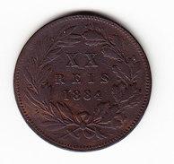 PORTUGAL KM 527 XX Reis 1884 (M38) - Portugal