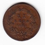 COINS PORTUGAL KM 527, 1884, 20 REIS. ( DP21 ) - Portugal