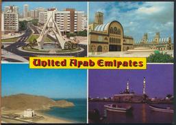 °°° 1625 - UAE - VIEWS - 1985 With Stamps °°° - Emirati Arabi Uniti