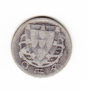 COINS    PORTUGAL   KM  580  1933  2.50 E .       ( 34 ) - Portugal