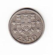 COINS    PORTUGAL       KM  590  UNC 1964  2.50E.    ( 35 ) - Portugal