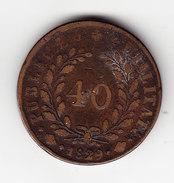 COINS  PORTUGAL KM 391 40R 1829.   (DP65) - Portugal