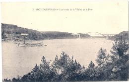 -56----- LA ROCHE BERNARD  Les Bords De La Vilaine - Et Bateau écrite TTB - La Roche-Bernard