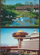 °°° 1638 - 2 POSTCARDS SINGAPORE °°° - Singapore