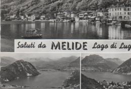 Schweiz - Saluti Da Melide - Lago Di Lugano - 1964 - TI Tessin