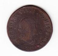 ESPAGNE KM 491 1820 8M. (3P22) - Monnaies Provinciales