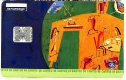 CARTE A PUCE SCHLUMBERGER CARTES 1998 - Télécartes