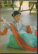 °°° 1648 - CINA CHINA MACAU - FAN DANCE °°° - Cartoline