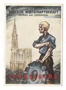 STRASSBURG  ( 29 August Bis 21 September 1941 ) /  AUSSTELLUNG DEUTSCHE WIRTSCHAFTSKRAFT AUFBAU AM OBERRHEIN - Guerra 1939-45