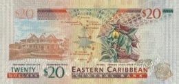 EAST CARIBBEAN STATES P. 53b 20 D 2015 UNC - Caraïbes Orientales