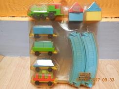 TRAIN Herbart Wertarbeit. Jeu Construction Plastique Genre Lego. Vintage Toys..NEUF....RARE - Autres Collections