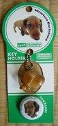 """Strap + Pin  """" Miniature Dachsund """" - Animals"""