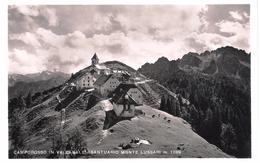 CAMPOROSSO IN VALCANALE - SANTUARIO MONTE LUSSARI - VIAGGIATA 1959 - (631) - Italy