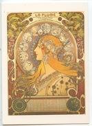Alphonse Mucha  La Plume 1896 (éd A. M. Vierge) Publicité Calendrier Revue Salon Bibliothèque - Advertising
