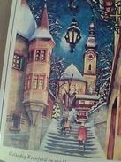 ILLUSTRATA BUON NATALE HOLLAND Schricker* Ed. Artis-Muti VB1976 STAMP TIMBRE GA13181 - Natale