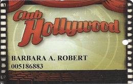Hollywood Casino - Bay St. Louis, MS - Slot Card - Casino Cards