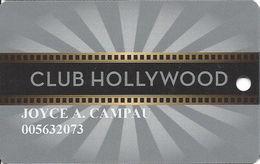 Hollywood Casino - Bay St. Louis, MS - Slot Card
