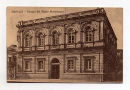 Siracusa - Palazzo Del Museo Archeologico - Viaggiata Nel 1918 - (FDC3771) - Siracusa